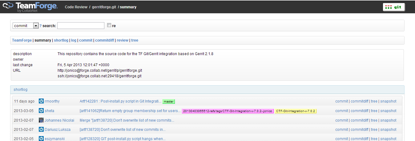 New Look&View for our Git Repo Browser